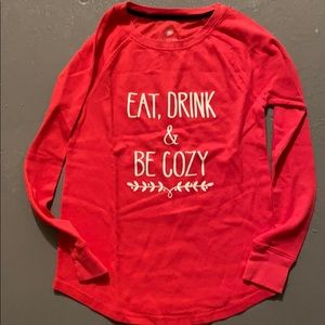 Sonoma eat drink and be cozy dmb thermal top S